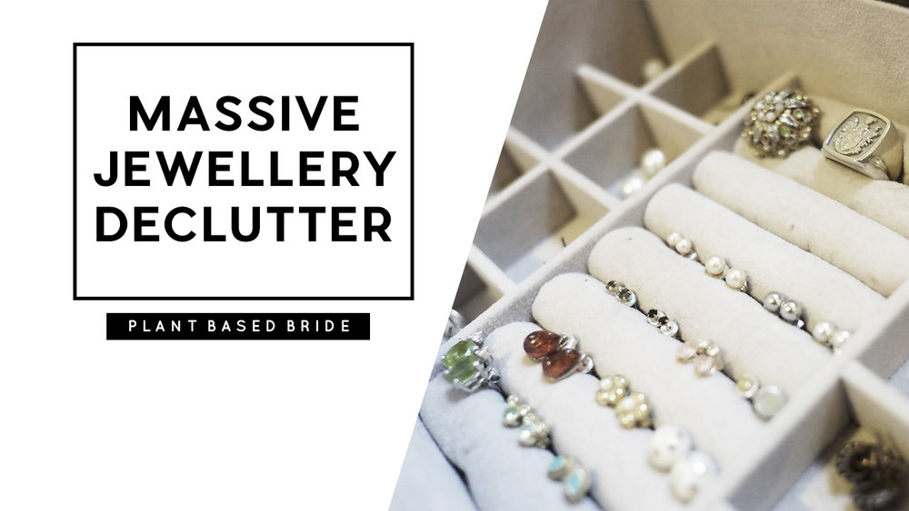 Here is the long overdue massive jewellery declutter I've been putting off for ages.  Decluttering jewellery is so hard because we tend to develop sentimental attachments to the pieces we own.  I'm proud of this first declutter, getting rid of 65% of my jewellery collection, and will revisit my jewellery box in about a year to see what else I can purge!