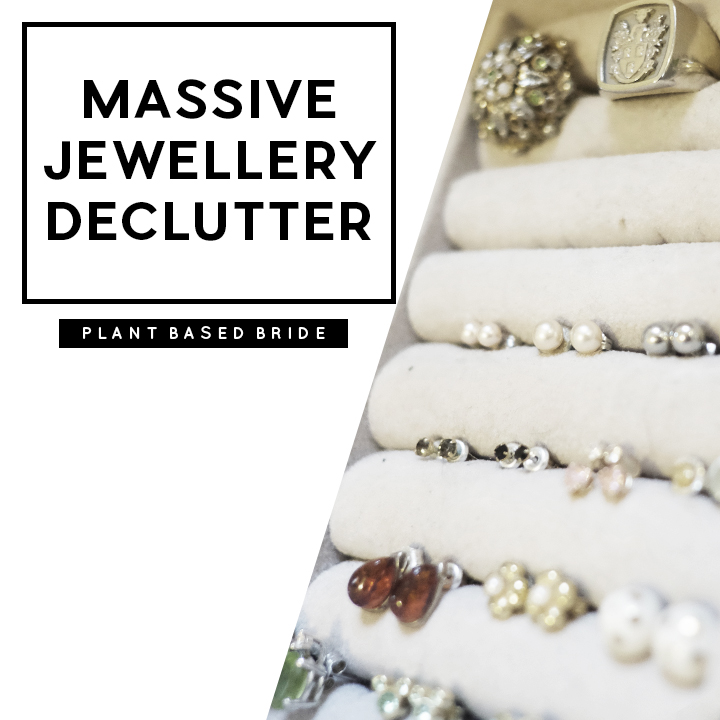 Decluttering My Jewellery Collection