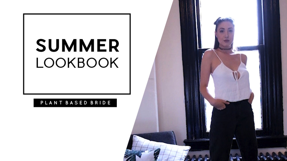 Minimal Summer Lookbook // Plant Based Bride