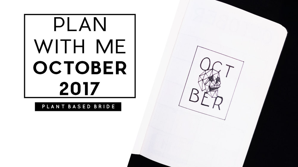 Plan With Me: October 2017