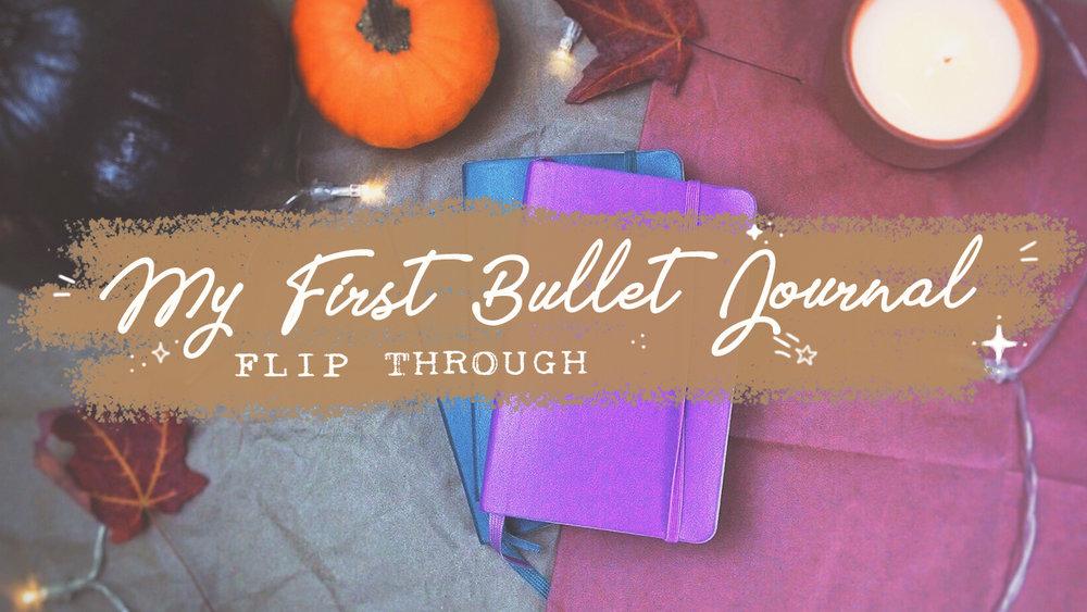 Bullet Journal Flip Through: My First BuJo // Plant Based Bride