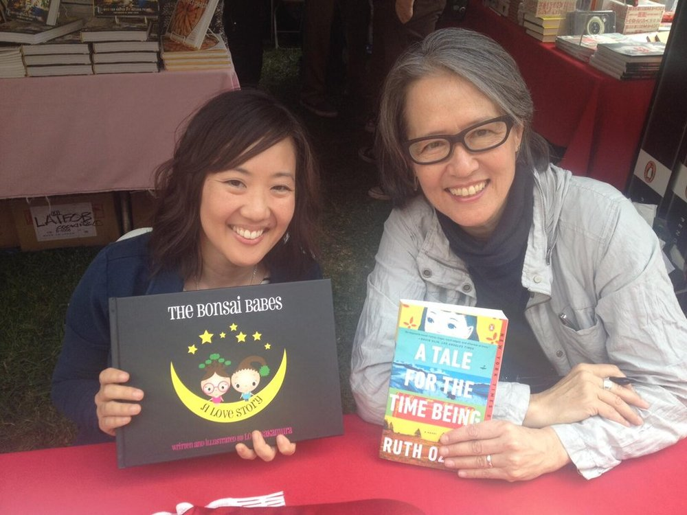LA Times Festival of Books... - 2014: Book signing side by side with Ruth Ozeki