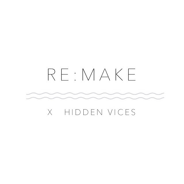 Don't forget to mark your calendars for May 3-4! Hidden Vices will be at Palmer Event Center for RE:MAKE giving out good vibes. 🍕🔆🍀 #hiddenvicesjewelry #britandco #remake #theroadtoremake (at www.remake.brit.co)