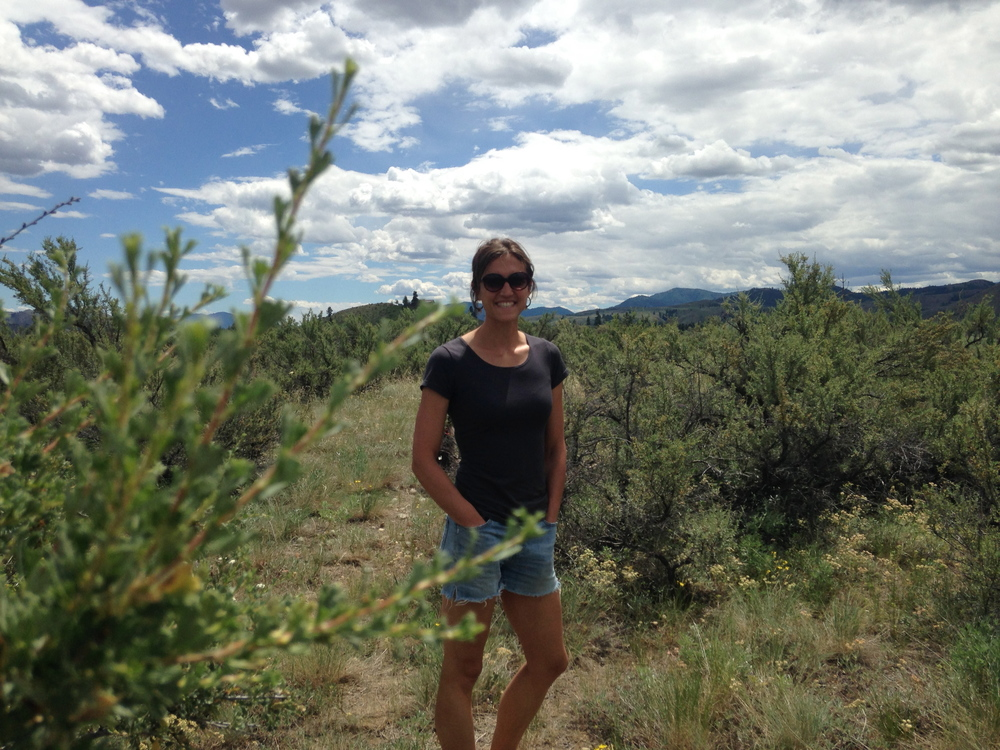 Alex, who grew up in New Mexico, feels right at home in the sun and sagebrush.