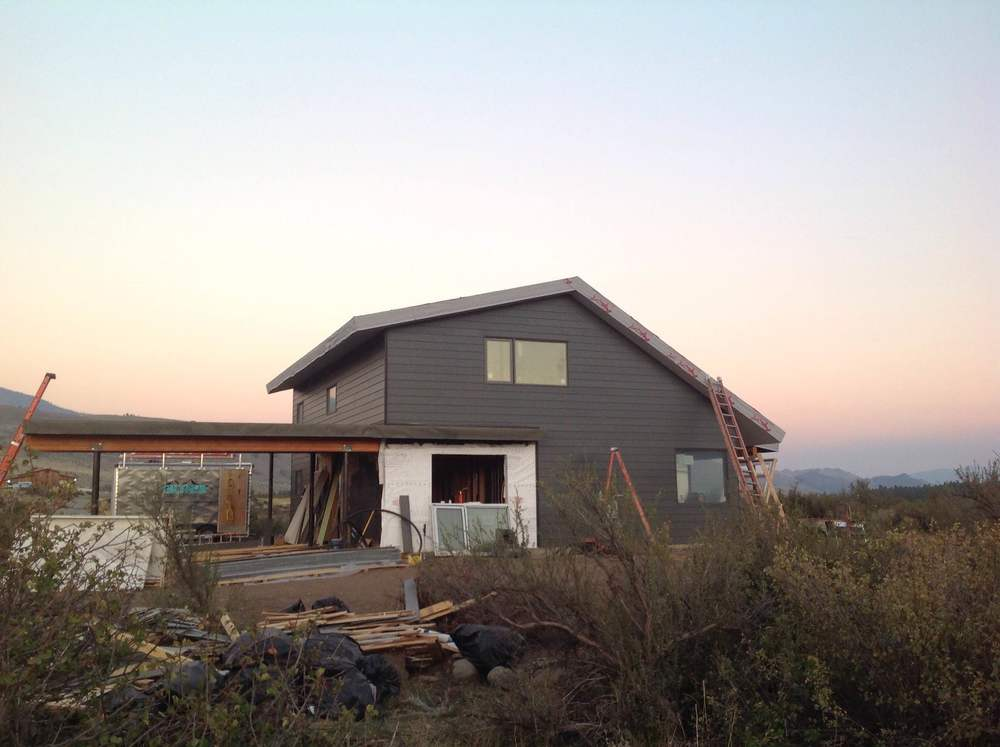 Zero-energy house siding