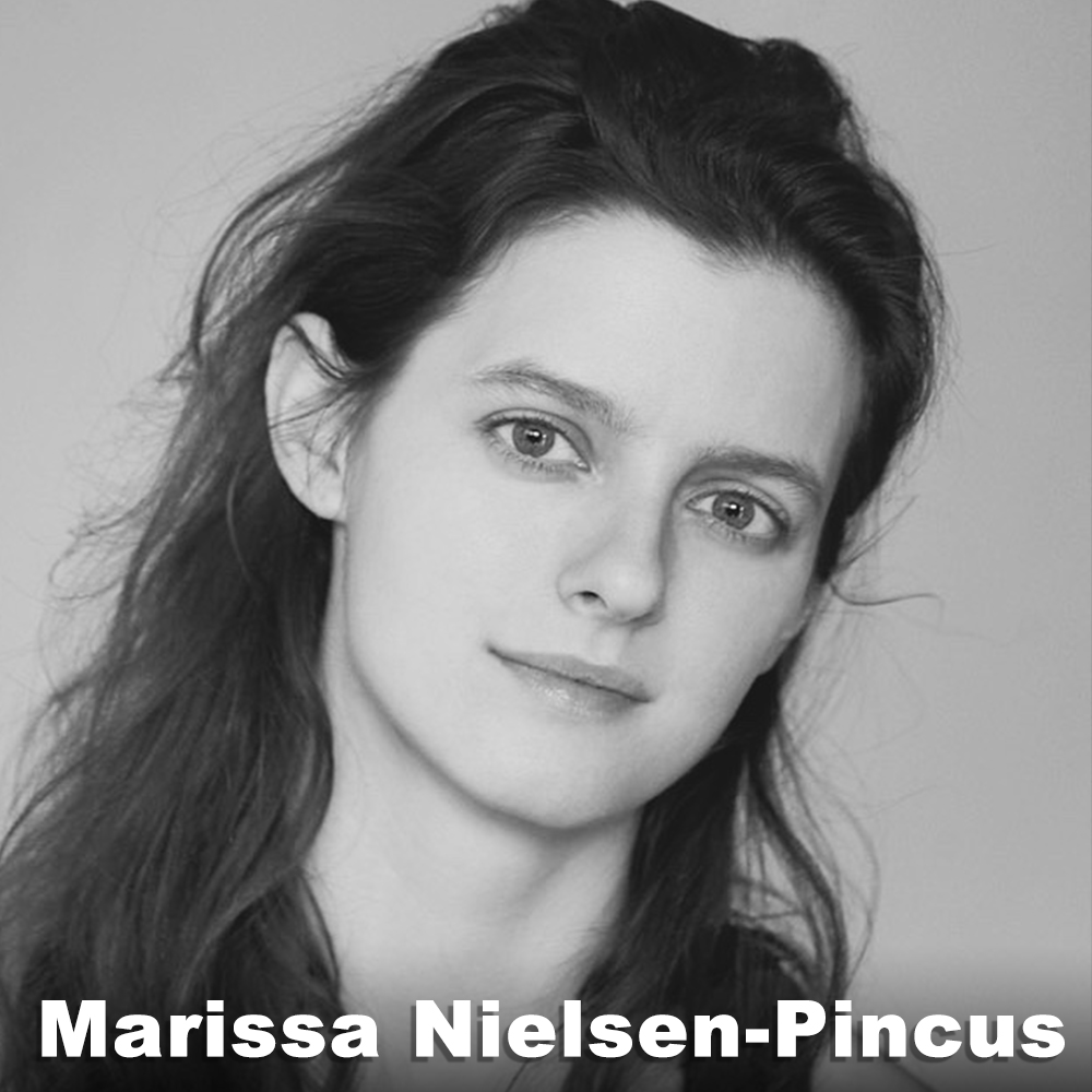 Marissa Nielsen-Pincus (Performer /Original Role Development) is a performing artist, teacher and founding member of Third Rail Projects. Since 2011 she has been Third Rail Projects' Associate Artistic Director and is also the Rehearsal Director for  Then She Fell . Originally from Portland, OR, Marissa studied contemporary dance in London at the London Studio Centre and moved to NYC in 2001. She is a certified Body-Mind Centering® Practitioner and teaches immersive performance skills and Body-Mind Centering® classes and workshops both nationally and internationally. She lives in Brooklyn with a man and a cat.