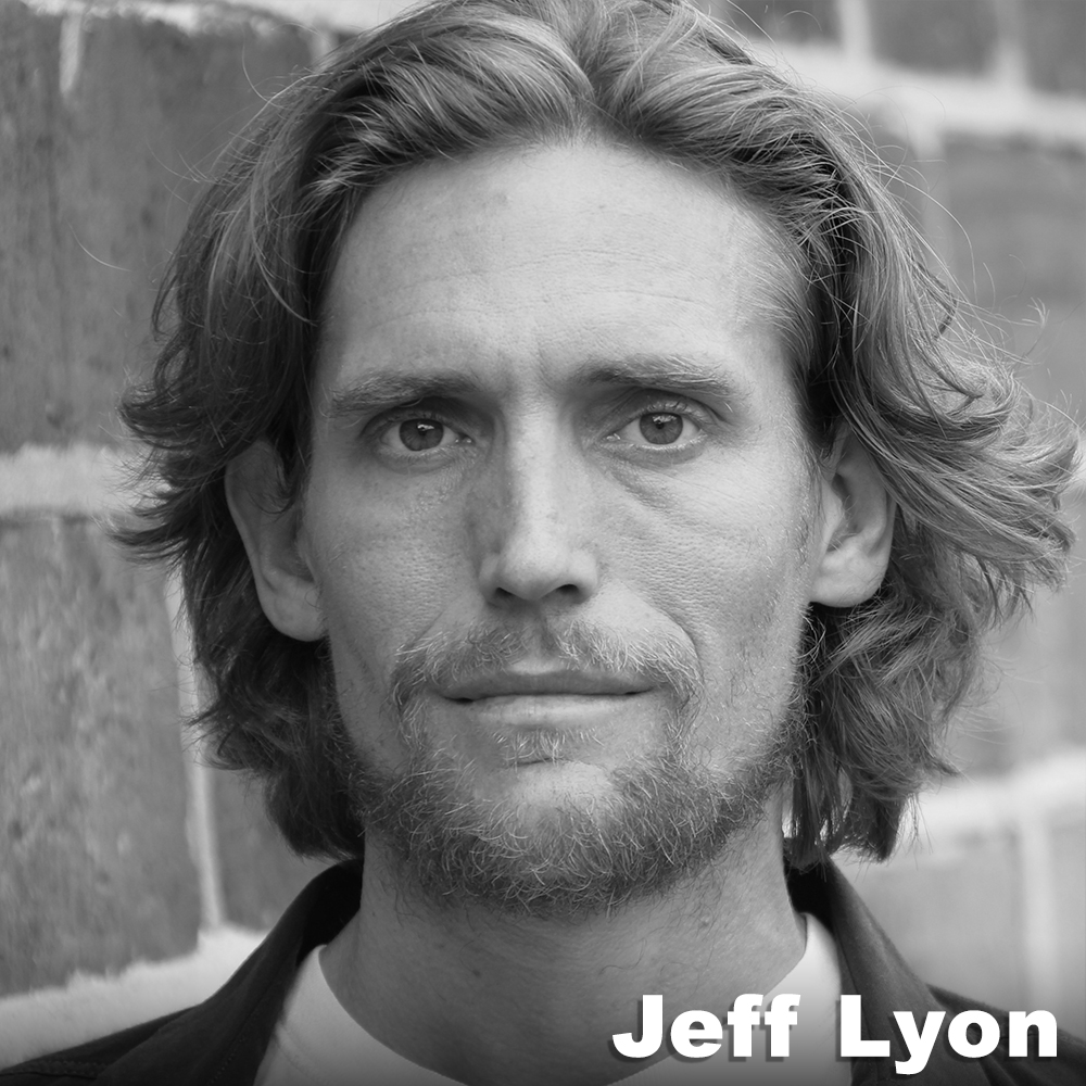 Jeff Lyon  (Original Role Development)was given ballet lessons and a motorcycle at age 6. He graduated from the dance conservatories of Interlochen Arts Academy and SUNY Purchase. In NYC, he has performed in parking garages, on escalators, in and on top of theaters, museums, military forts and swimming pools with the Erik Hawkins Dance Company, Sens Productions, AMDaT, Gina Gibney Dance Company, and, Syren Modern Dance. He was also an original cast member of Punchdrunk's  Sleep No More , and has recently performed in classic plays from Shakespeare, Chekov, and Agatha Christie. Jeff is very happy to be working with Third Rail Projects, it feels like Paradise.