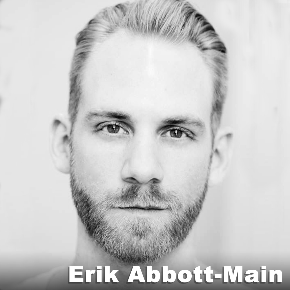 Erik Abbott-Main  (Original Role Development)is a dance artist engaging the field through improvisation, mixed media and installation performances, collaborations with other artists and more. He performed in Punchdrunk's  Sleep No More  (2013 – '15), and in works by choreographers Kristina Isabelle, Bebe Miller, Peter Sparling, Stefanie Nelson, and more. Under the moniker  Boy Friday , he creates visual and performance events, diverse in measure and venue, with on-going presentations nationally and abroad. He holds a BA in Theatre Arts from Eastern Michigan University, and an MFA in Dance from the Ohio State University. He also remains an active student in yoga, literature, animated video shorts, stilt and other circus arts. boyfridaycompany.com