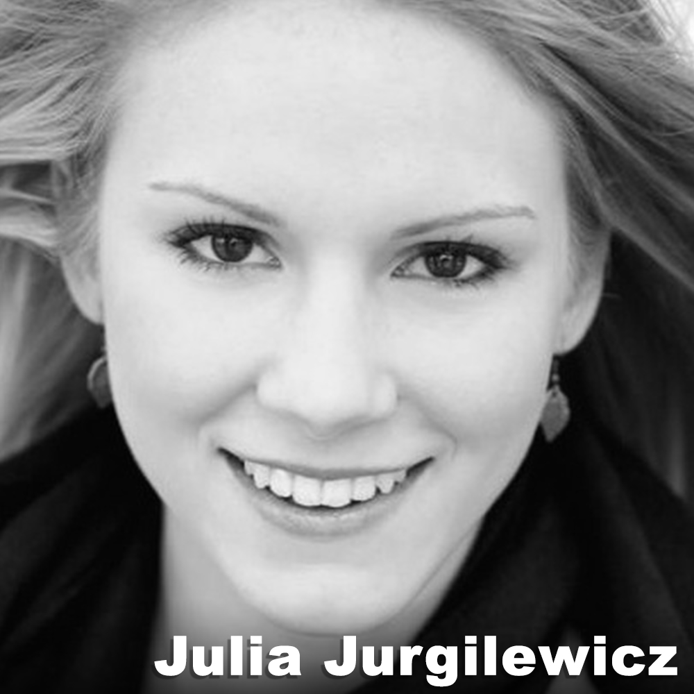 Julia Jurgilewicz  (Performer) trained in her home state of Massachusetts at The Gold School and earned her BFA at Tisch School of the Arts, NYU. She performed in Don Giovanni, Aida, and Parsifal at the Metropolitan Opera, and in works by Mark Dendy, Johannes Wieland, Jillian Pena, LEVYdance, Suzanne Beahrs Dance, Dishman + Co., and The Anata Project. She has performed internationally at the Edinburgh Fringe Festival, Scotland and the Black Box Festival in Plovdiv, Bulgaria. Julia presents her own choreography with RedCurrant Collective throughout NYC. Currently, Julia dances with Third Rail Projects, Liz Gerring Dance, and Erica Essner Performance Co-Op.