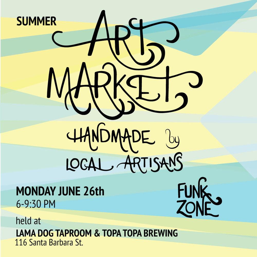 june 26th, 2017  I  6:00 - 9:30pm art market