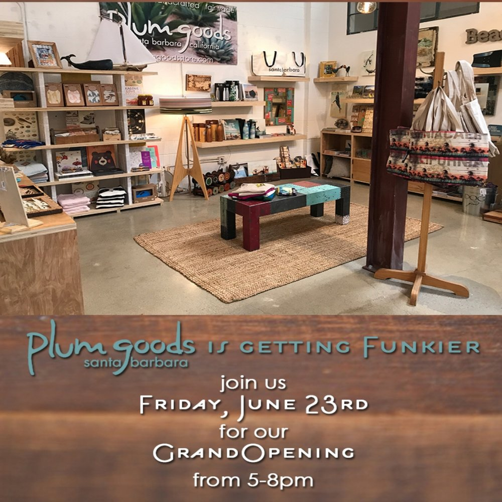 june 23rd, 2017   I   5:00-8:00pm help us welcome plum goods to our collective