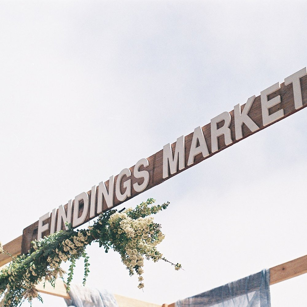 november 11th, 2017 I 11:00 - 6:00pm findings market holiday pop-up