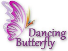 dancing butterfly logo