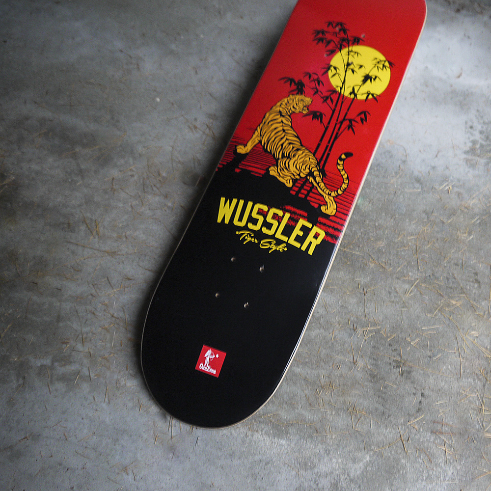 One Love x Jason Wussler Tiger Style Skate Deck