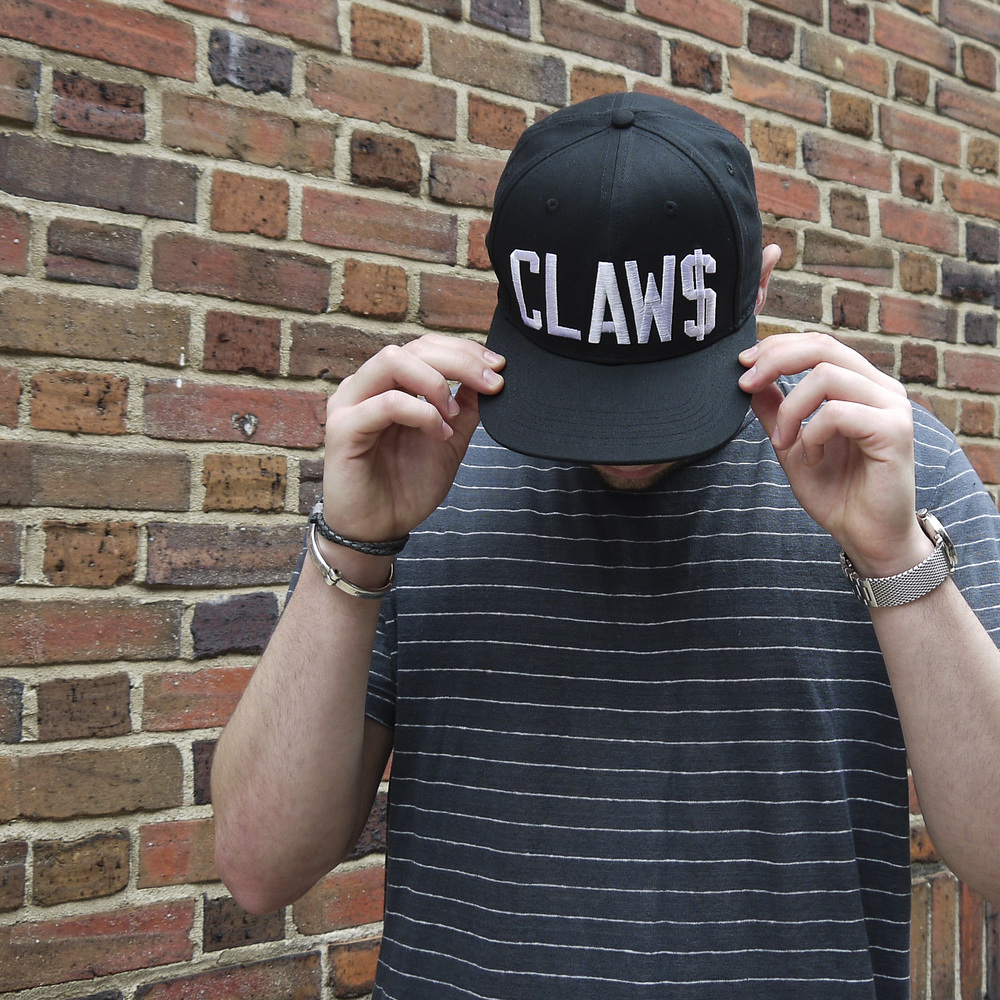 Claw&Co CLAW$ 6-Panel Black Snapback