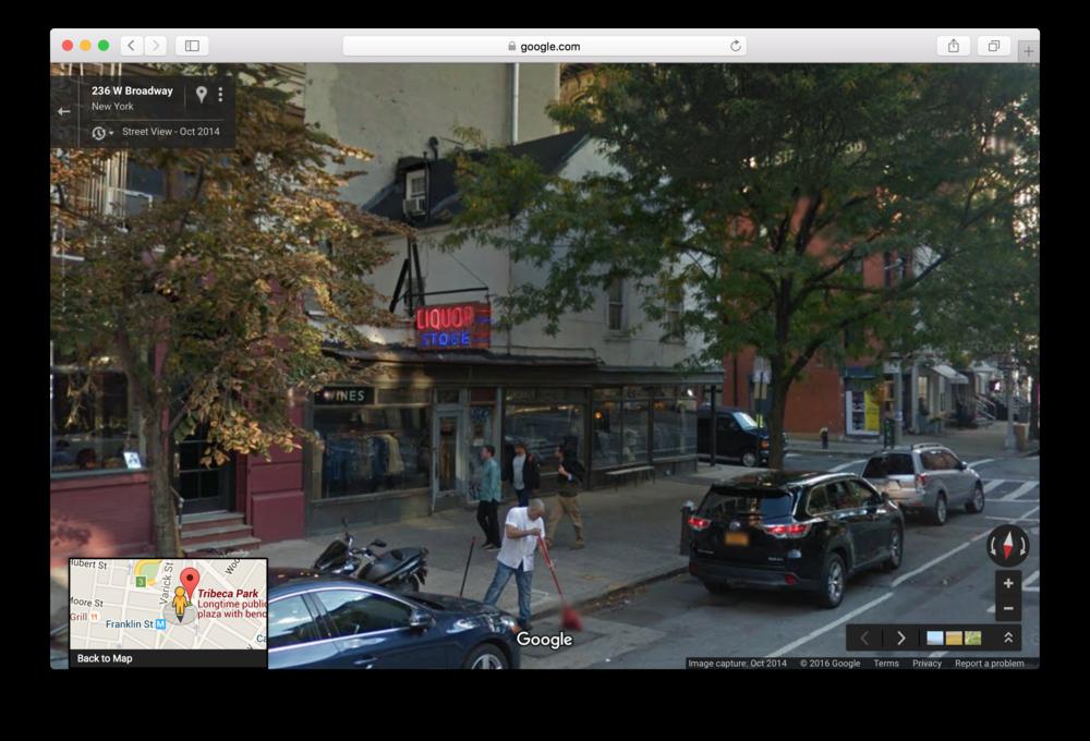 Location 1: J. Crew Liquor Store