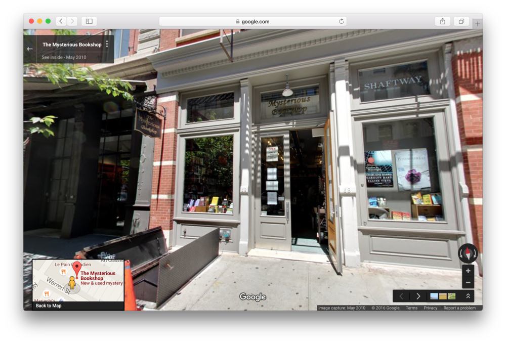 Location 4: The Mysterious Bookshop