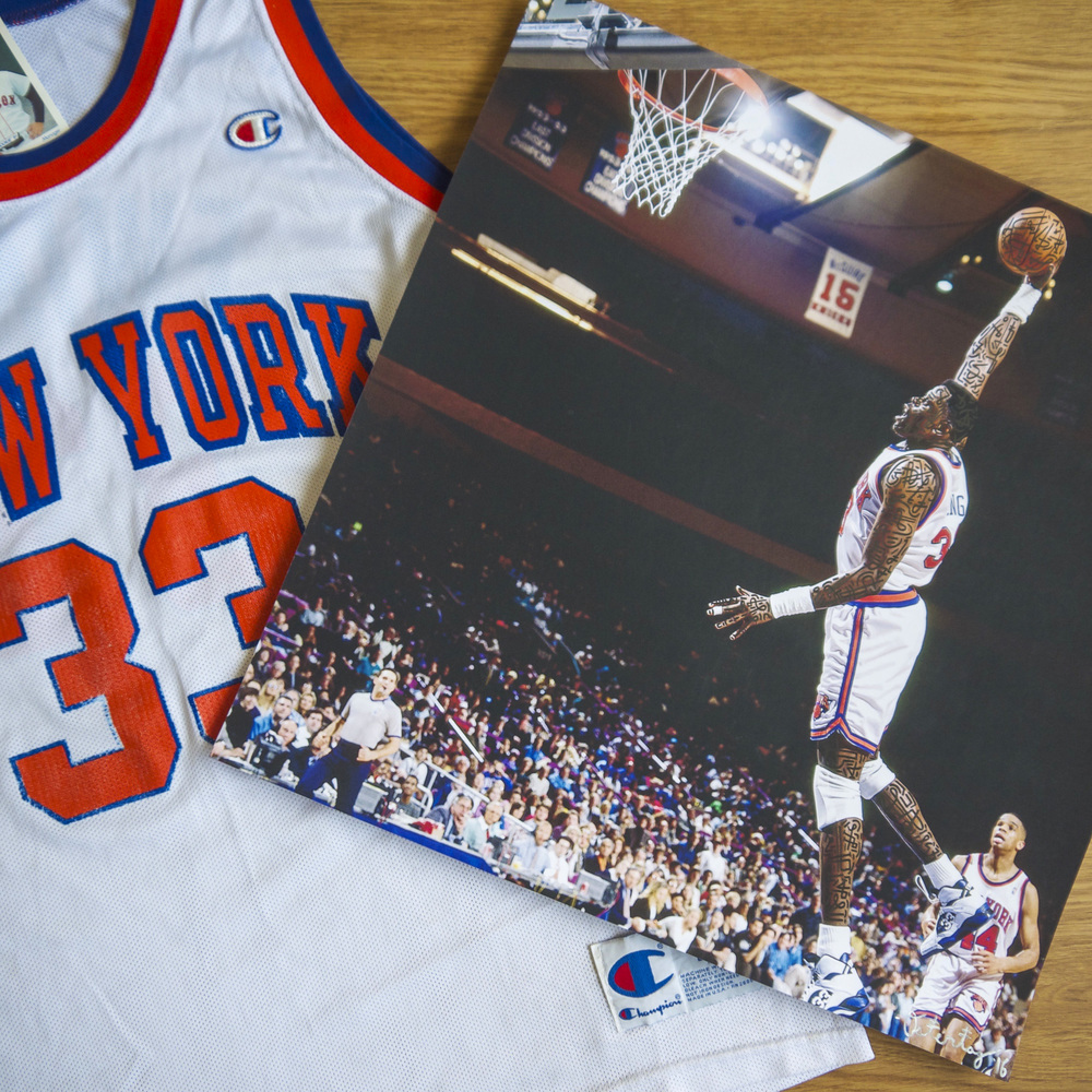 Hypeist Mr. Throwback Ostertag Ewing Jersey