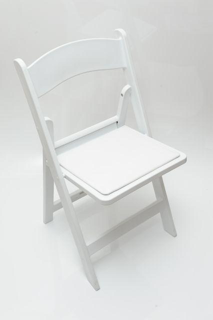 White Wedding Chair - $4.90