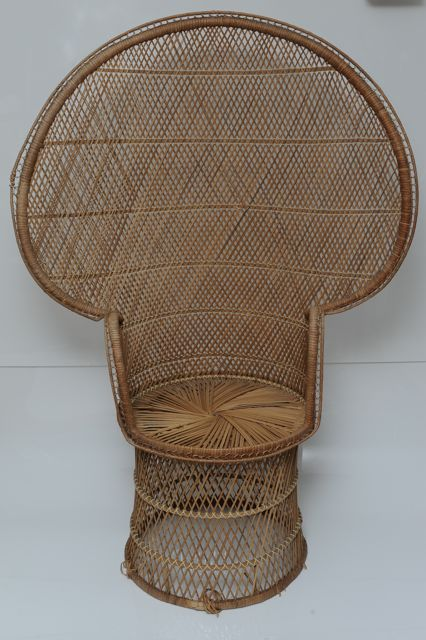 Rattan Peacock Chair | 1 available