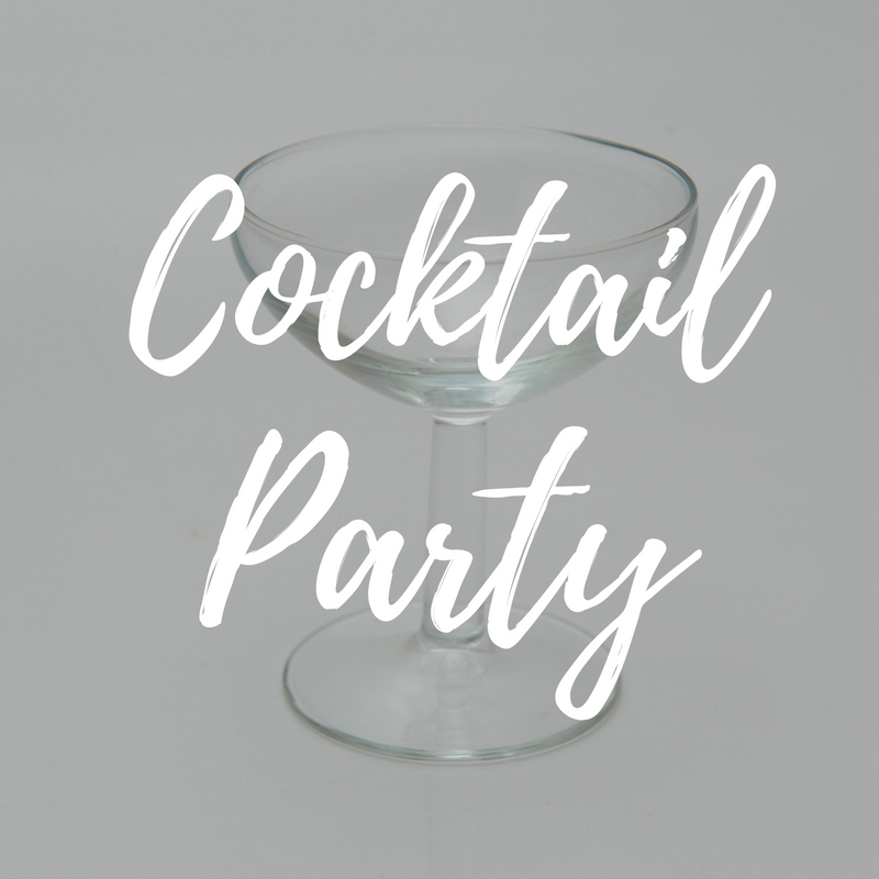 Cocktail party styling and hire Gold Coast