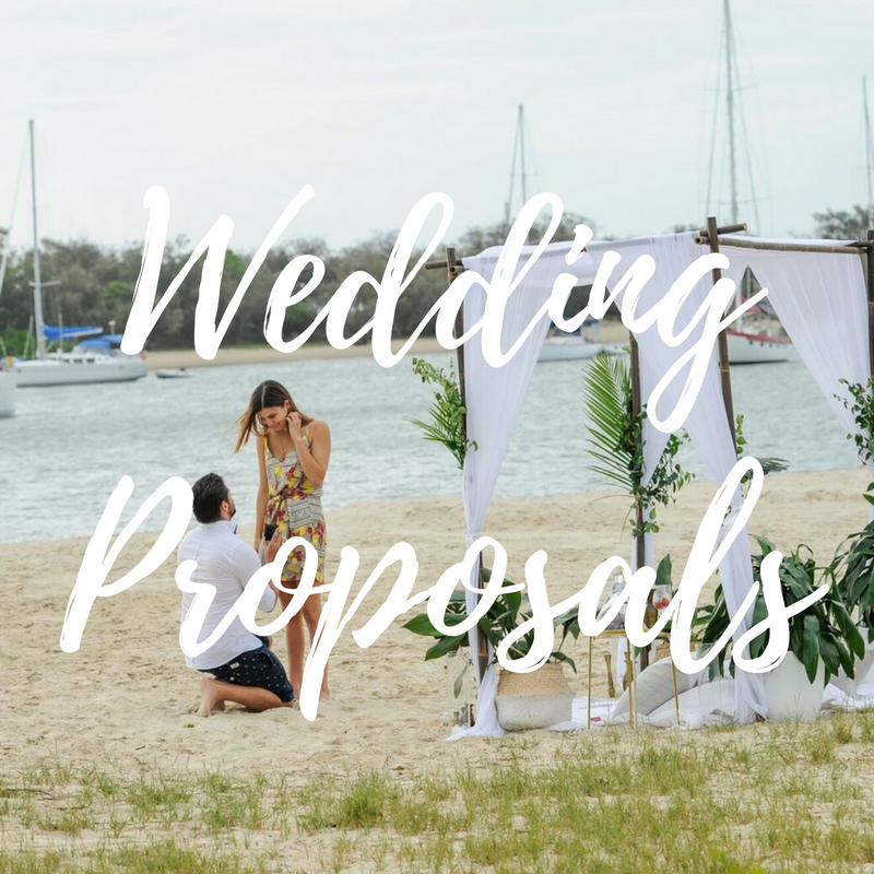 Marriage proposal gold coast