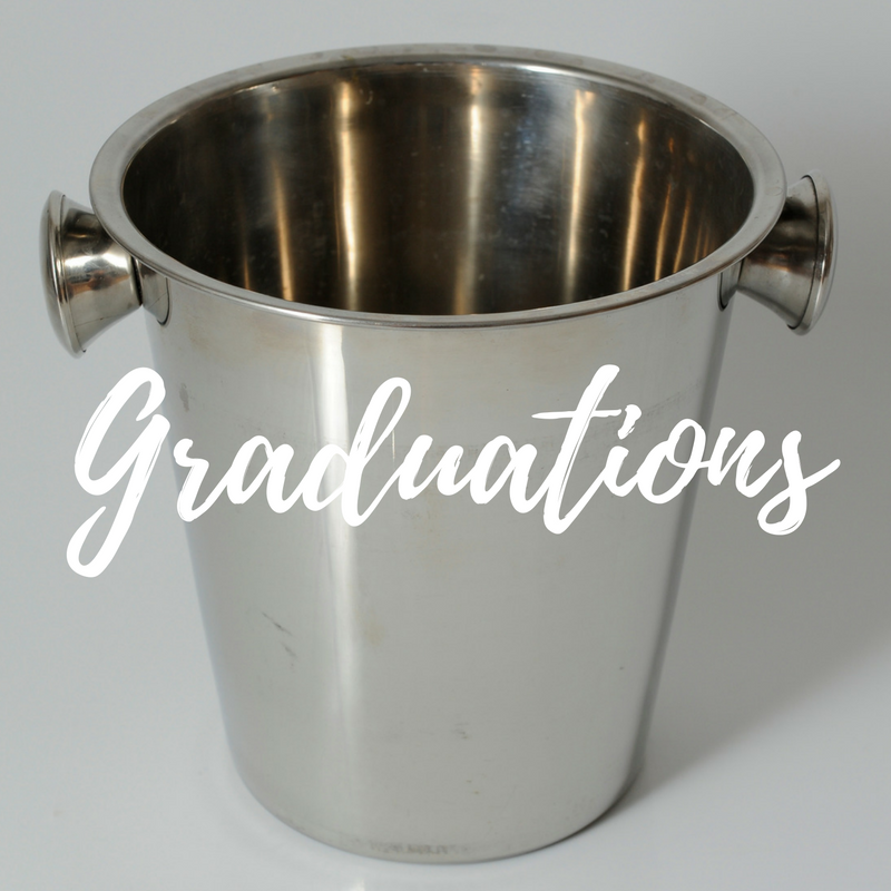 Graduation party hire
