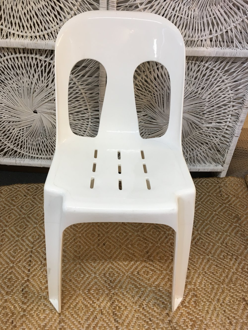 Plastic Chair - $2 each to hire