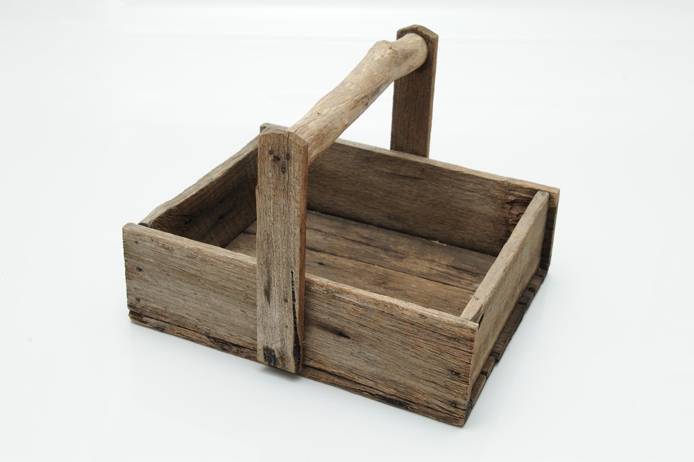 Wooden Basket - Hire for $8