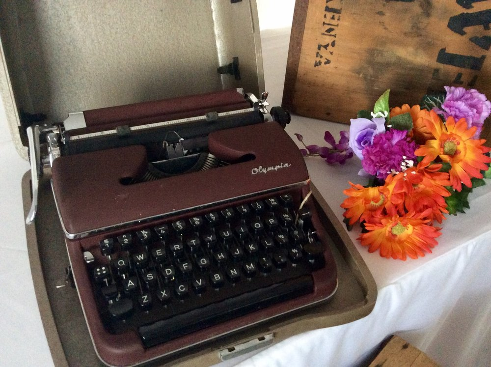 Typewriter - Hire for $12