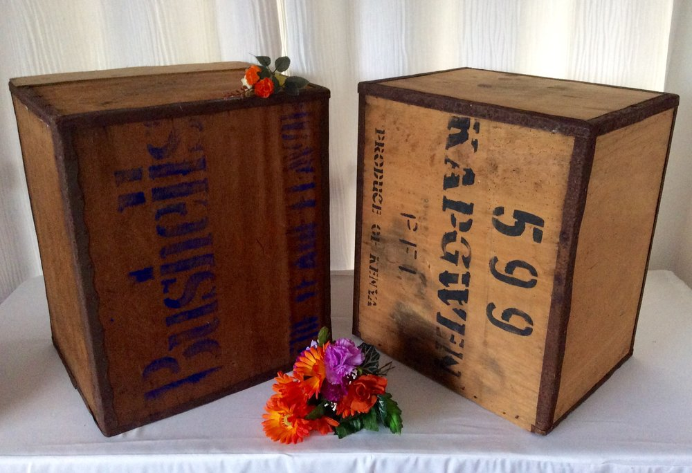 Large Tea Chests - Hire for $10 each