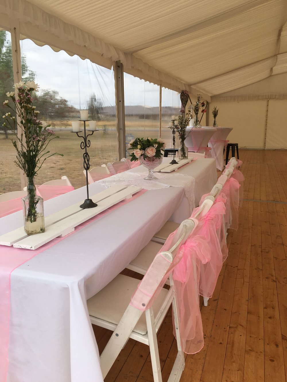 Wooden Table runners