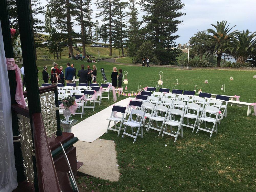 Wedding reception Newcastle