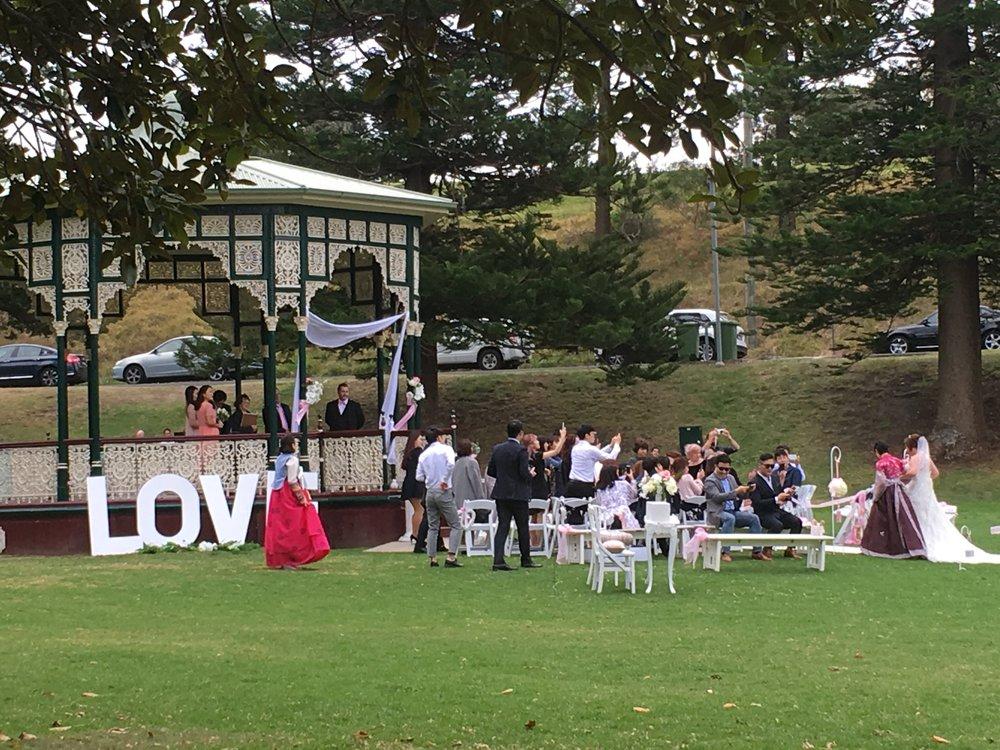 Wedding ceremony Newcastle