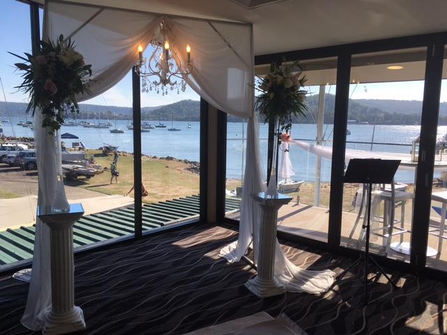 Gosford Sailing Club wedding