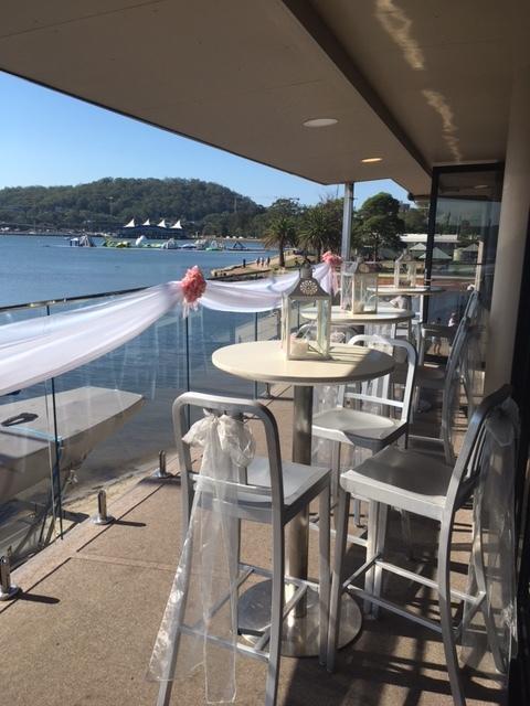 Gosford Sailing Club verandah