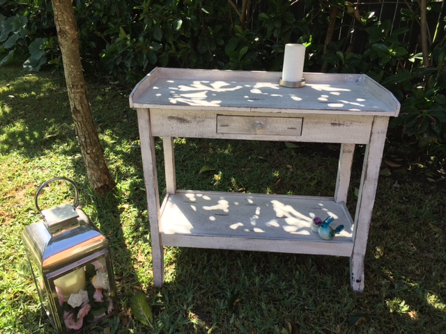 Shabby chic table - $40
