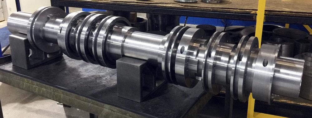 Ensamble de cabezales Simon 230 Casemaker fabricado con el mecanizado de 5 ejes
