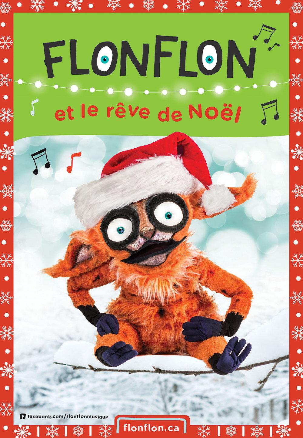 Flonflon et le rêve de Noël -