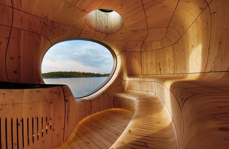 Grotto Sauna in Toronto, Canada