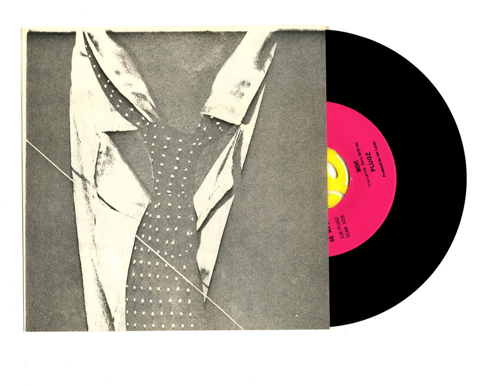 "Plugs 'Move' 7"" Single - Tie Cover - Front and Back"