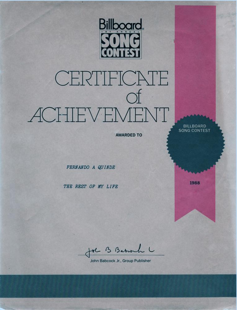 Certificate of Achievement Songwriter award.jpg