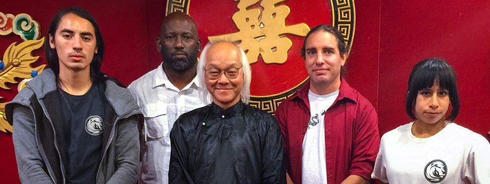 Christopher Chang, Master Robert Williams, Grand Master Seming Ma, Sifu Jeremy Hector, Claudia Camacho