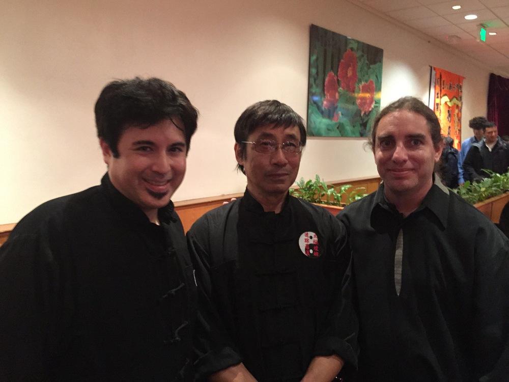 Sifu Kurtis Fujita, Grand Master Raymond Wong, Sifu Jeremy Hector.