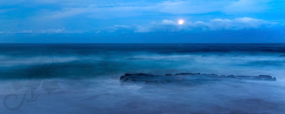 sometimes, the ocean