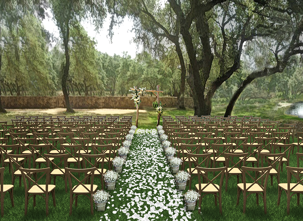 Garden and Water Ceremony Site