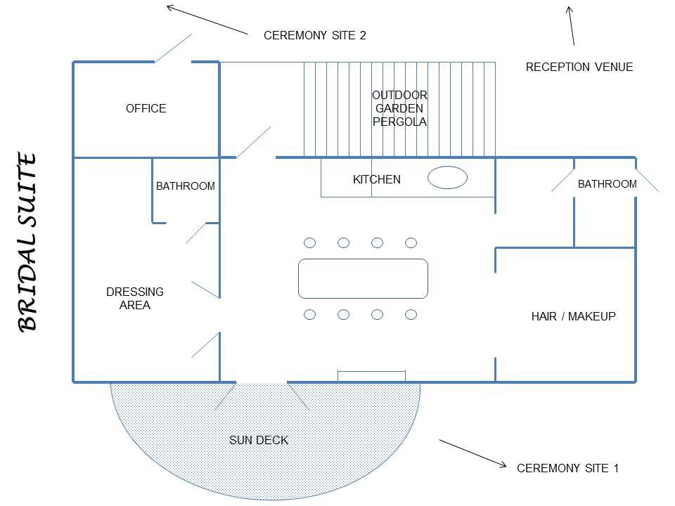 Bridal Suite (House) Layout