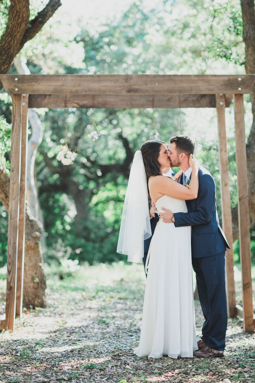 Alex and Allison said I Do in  The Addison Grove  Grove area.