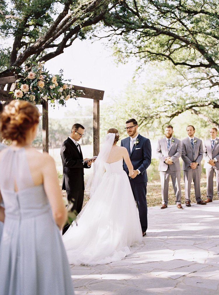 The White Wren    Truly Joyful Wedding with Sweet Floral Detail: Austin & Marissa