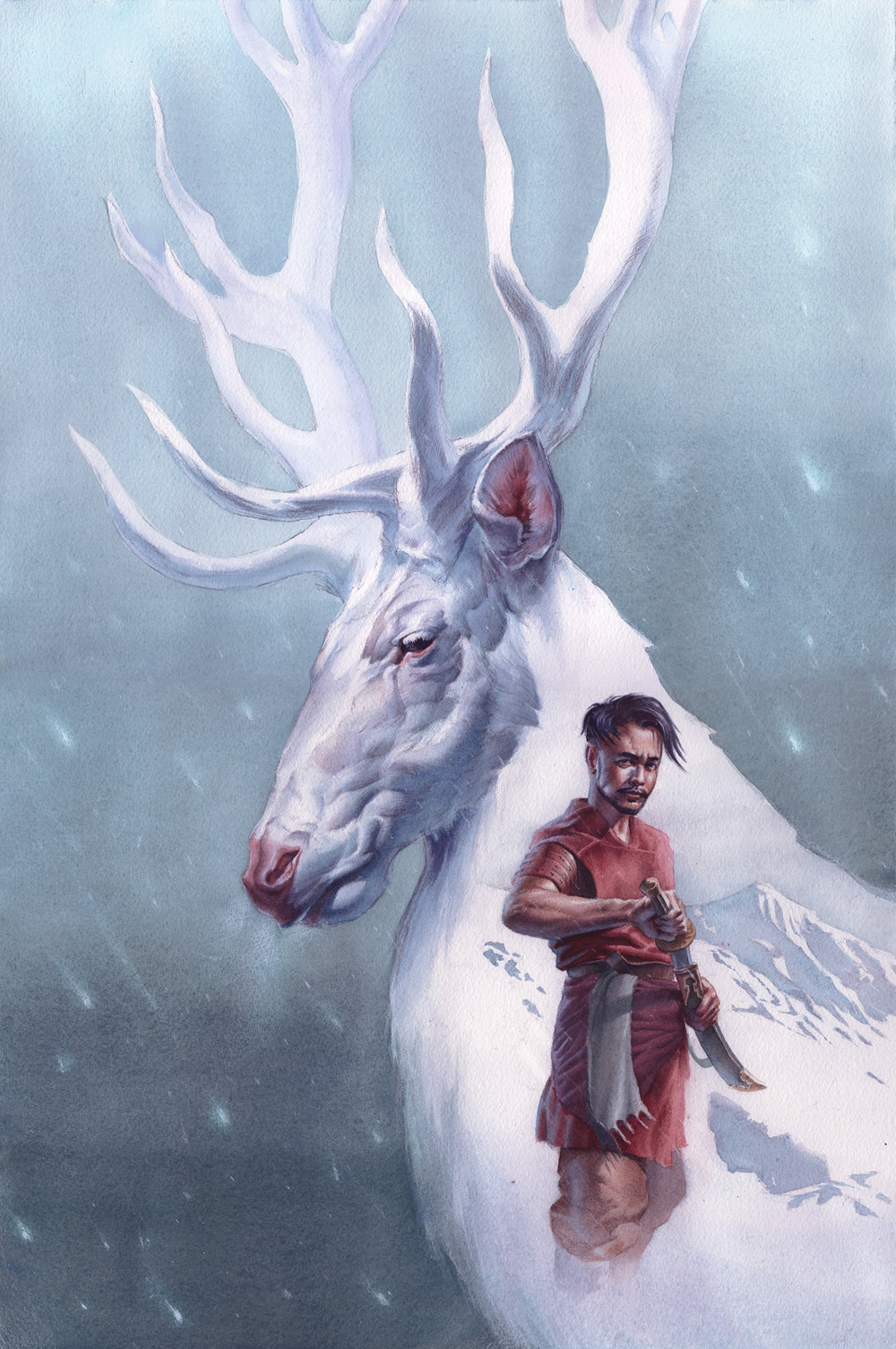 Atilla and the Stag